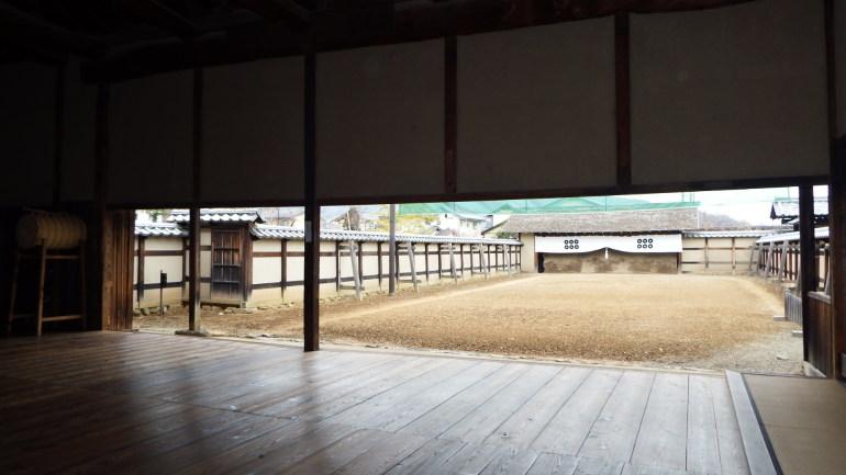 松代城、文武学校、弓道場、剣術所、槍術所