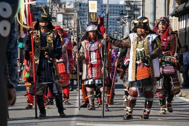 松代城、鎧武者、大名行列、松代藩真田十万石まつり