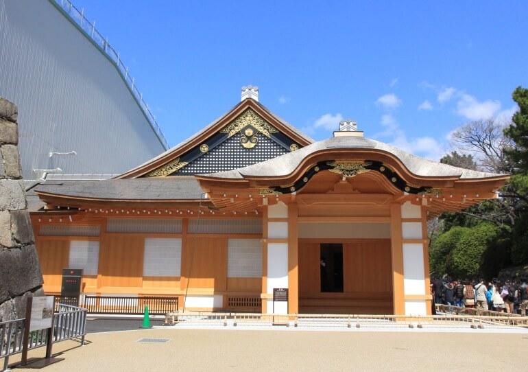 名古屋城、御殿、玄関