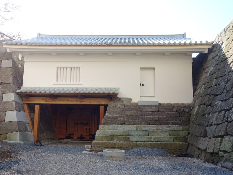 福井城、櫓門、錺金物