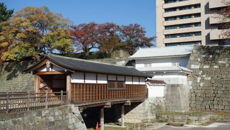 福井城、内堀、水堀
