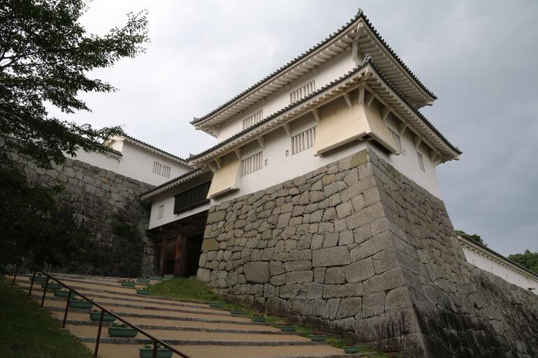 二本松城、箕輪門、二本松藩、藩庁