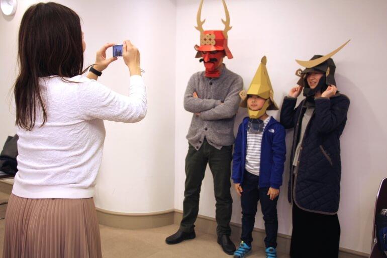 お城EXPO 2017、兜、記念撮影、前田利家