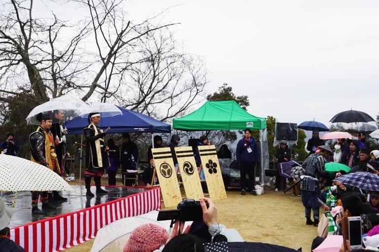 松山城、全国城サミット in 松山、名古屋おもてなし武将隊