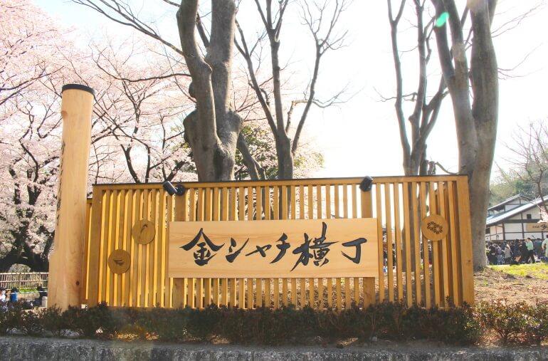 名古屋城、金シャチ横丁、