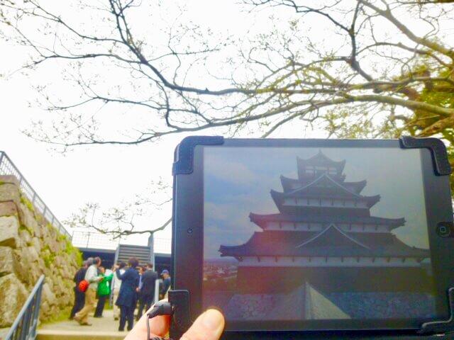 福岡城、VR