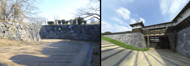 福岡城、VR、再現、東御門