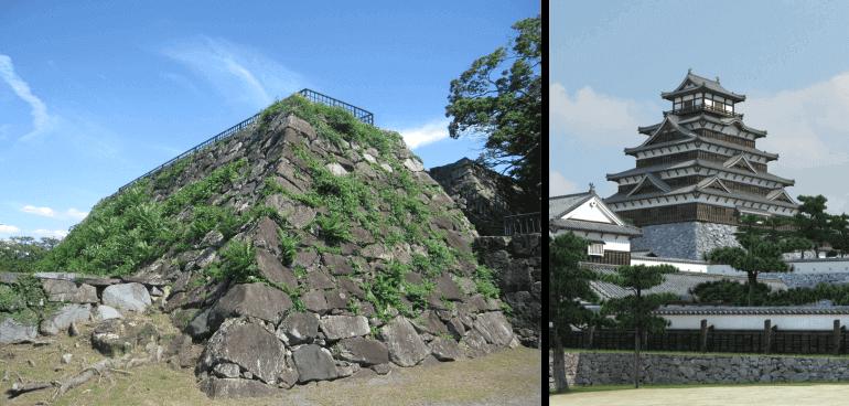 福岡城、VR、再現、天守
