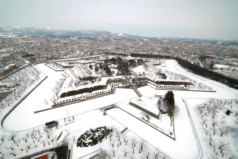 五稜郭、星形要塞、函館