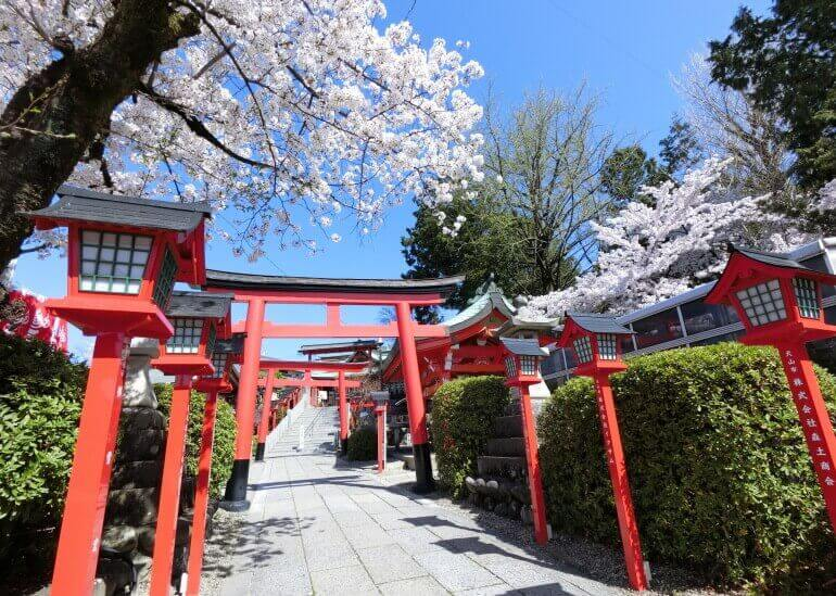 三光稲荷神社、犬山城、松の丸