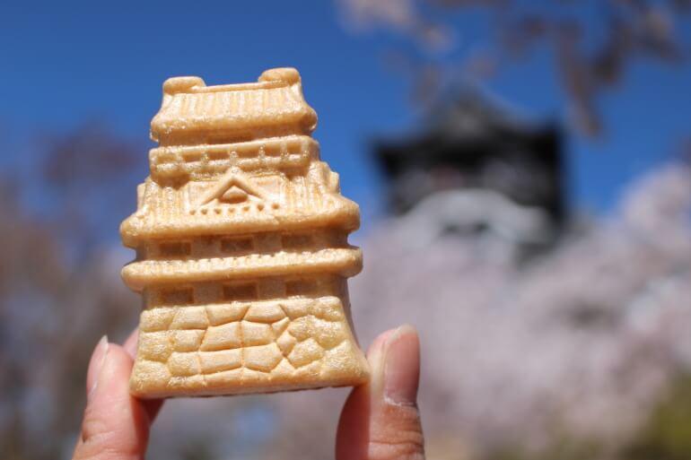 松栄本店、お城もなか、犬山城