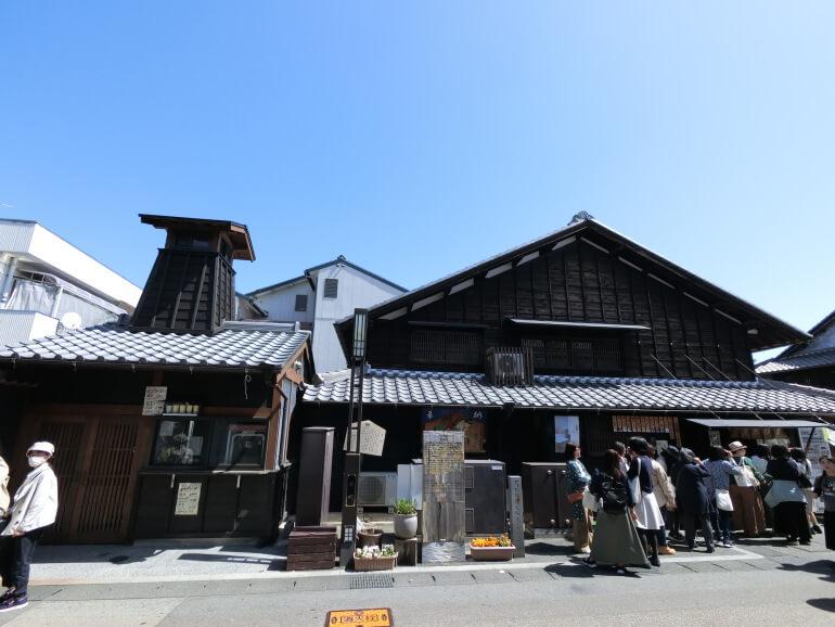 山田五平餅店、犬山城下町