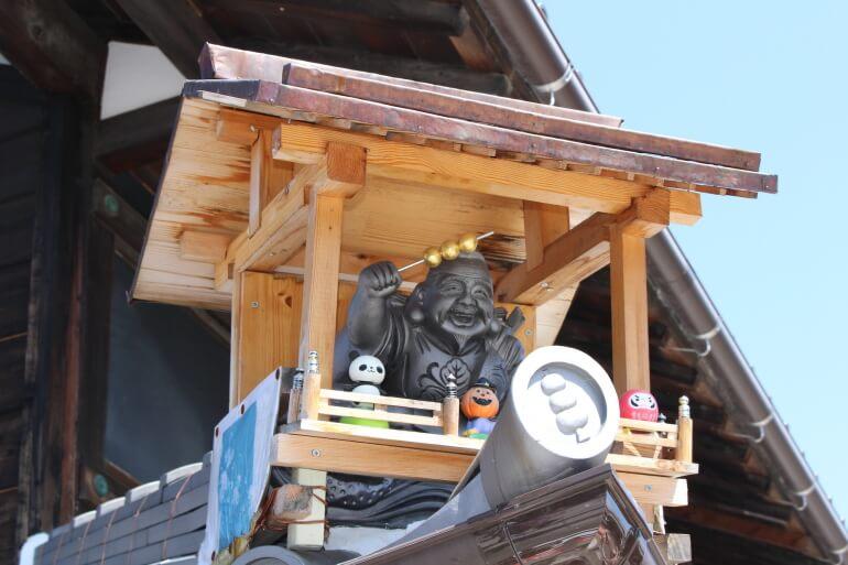 山田五平餅店、大黒天様