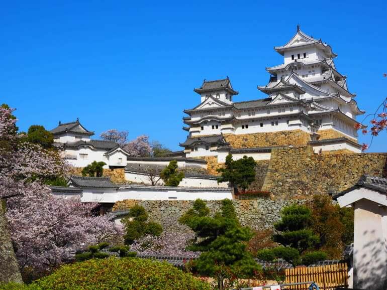 姫路城、天守