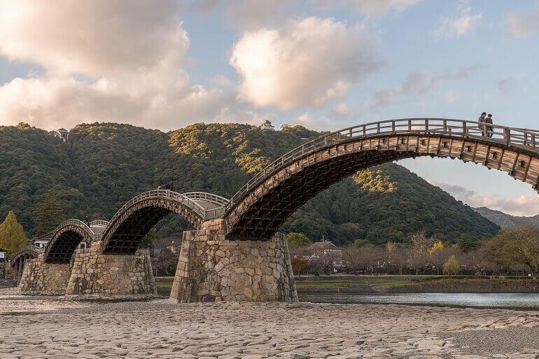 錦帯橋、岩国城