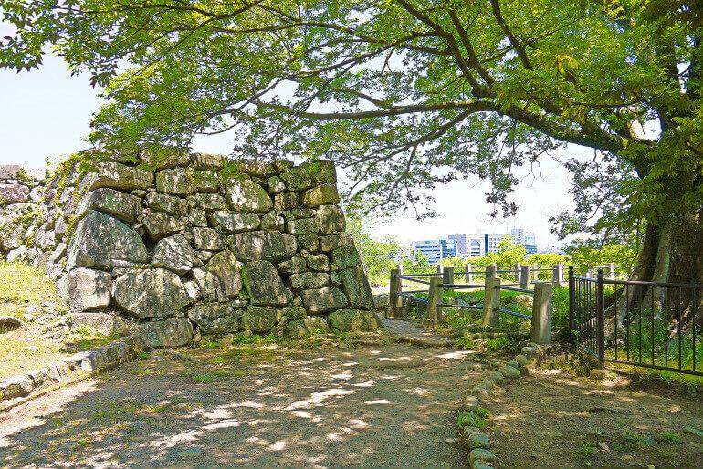 福岡城、小天守台