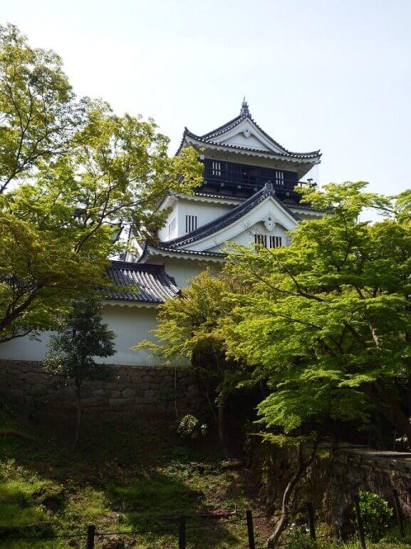 岡崎城、二の丸、天守、日本100名城