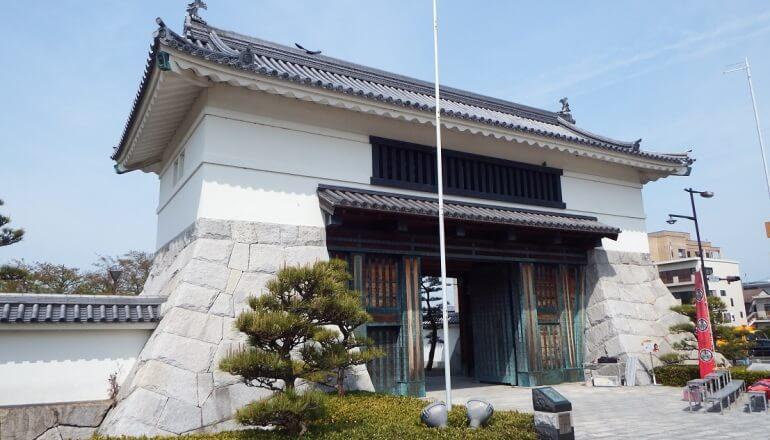 岡崎城、大手門、二の丸入口