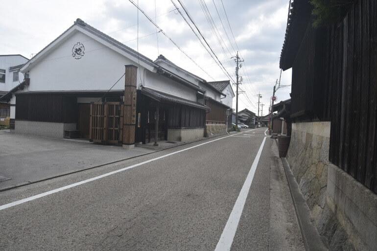 岡崎城、八丁味噌蔵、旧東海道、往還通り