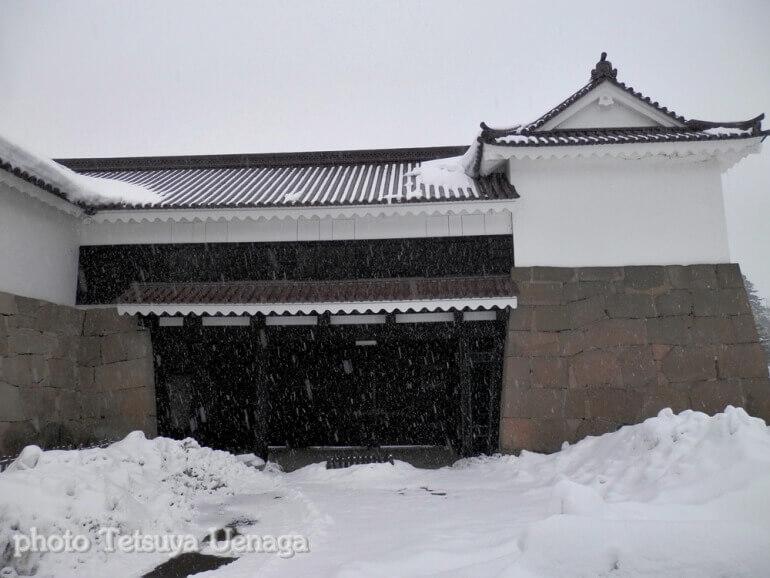 鶴ヶ城、会津若松城、鉄門