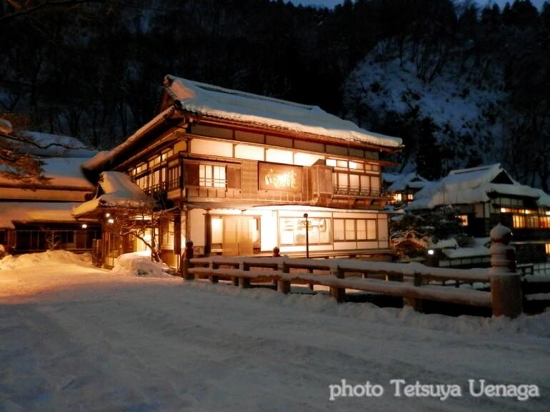旅館、向瀧、東山温泉