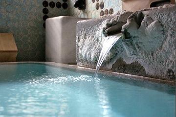 旅館、向瀧、大浴場、きつね湯、東山温泉