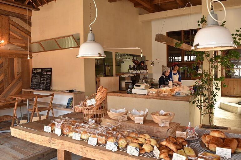 岡城下、門パン、天然酵母パン