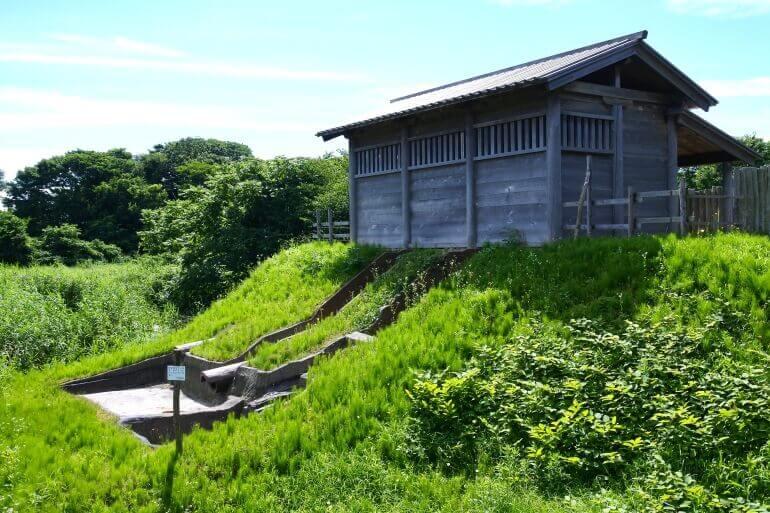 秋田城、古代水洗トイレ