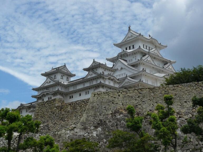 姫路城、大修理後、天守