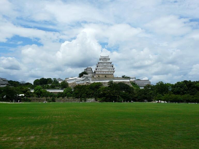 姫山、姫路城