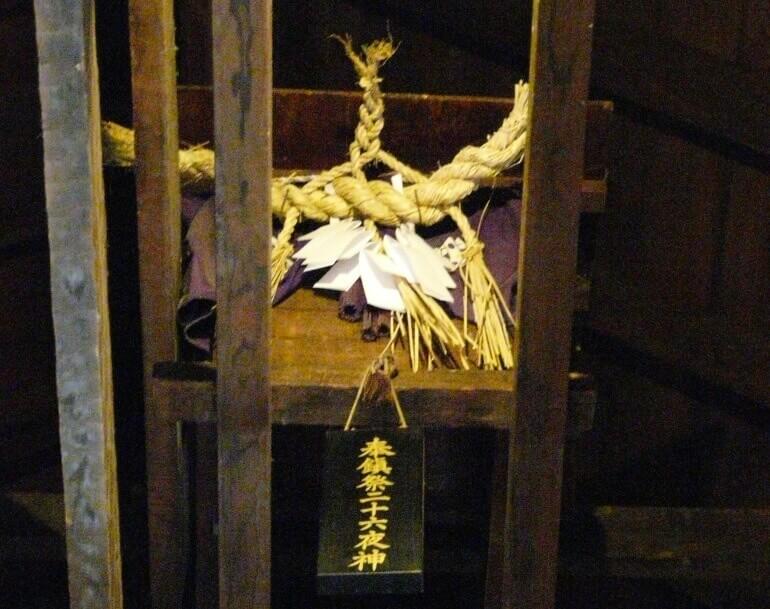松本城、二十六夜神