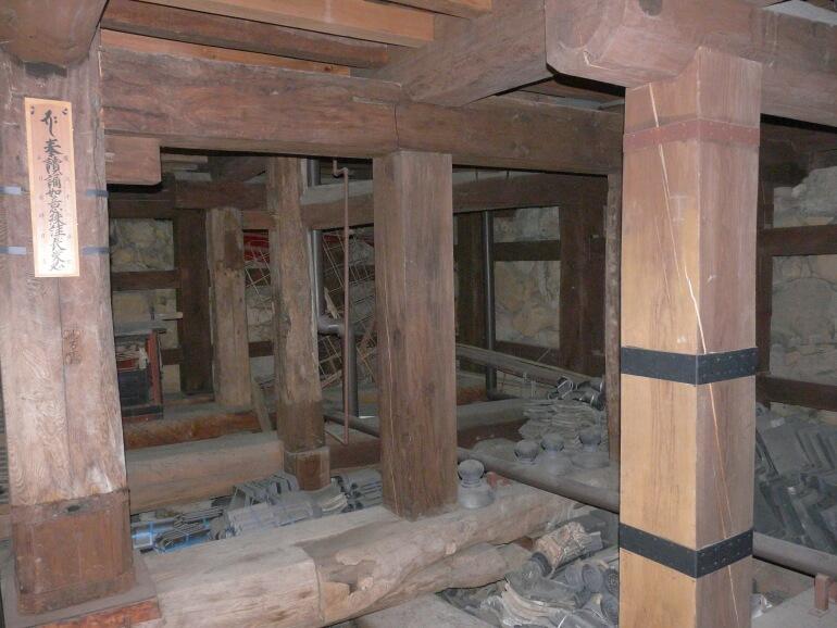 松江城、天守地階、祈祷札、レプリカ