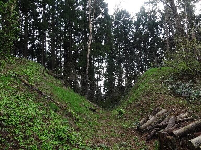 檜山城、安東氏、中世城郭