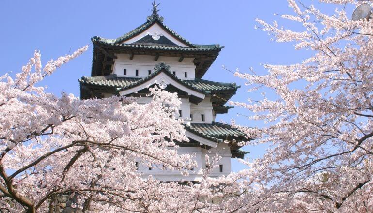 弘前城、天守
