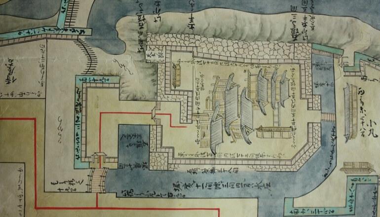 弘前城、津軽弘前城之絵図