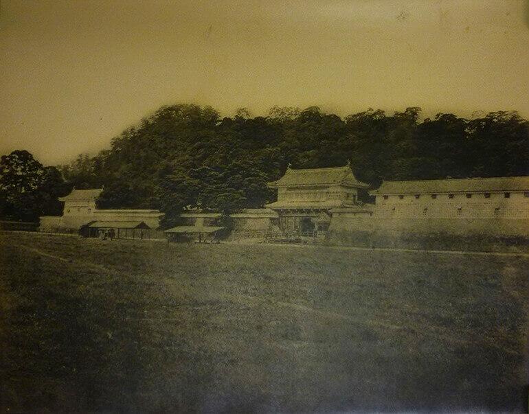 鹿児島城、御楼門、消失前