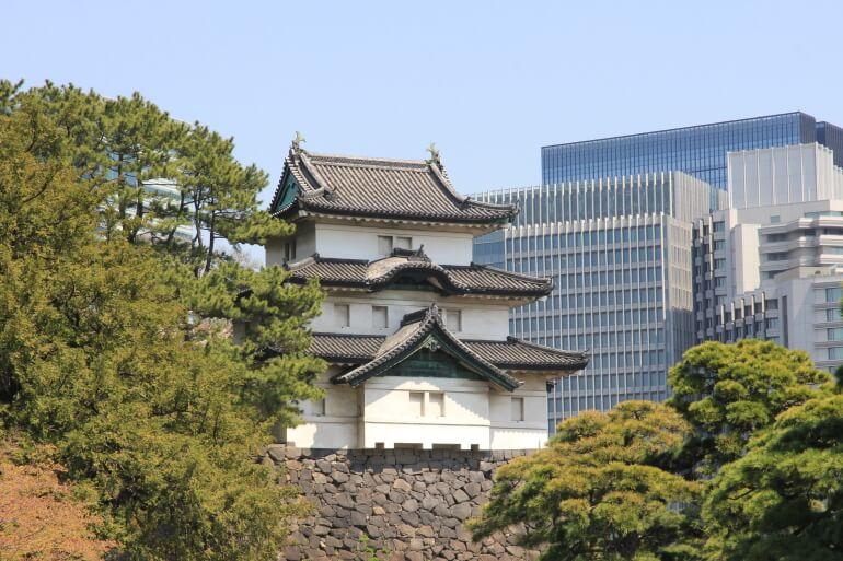 江戸城、富士見櫓、天守、代用