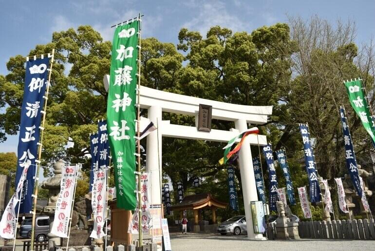 加藤清正、加藤神社、熊本城
