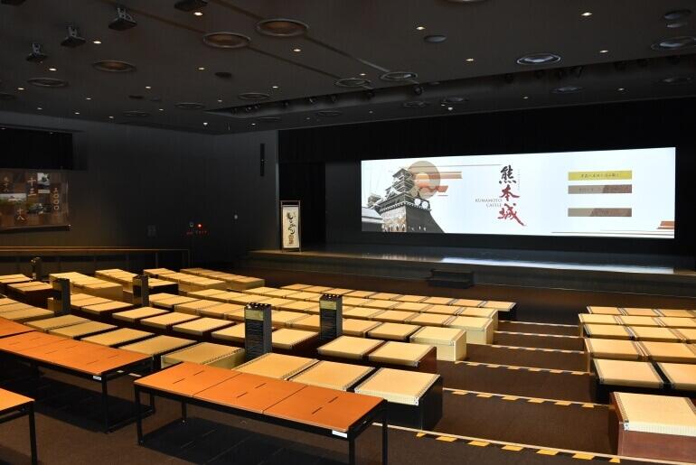 熊本城ミュージアムわくわく座、寸劇、実演