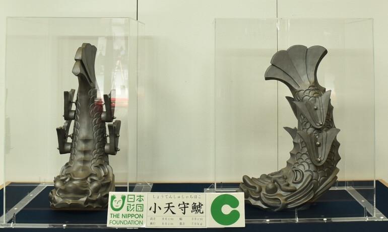 熊本城ミュージアムわくわく座、小天守鯱