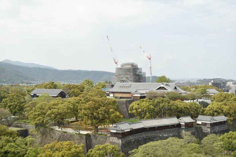熊本城、展望台