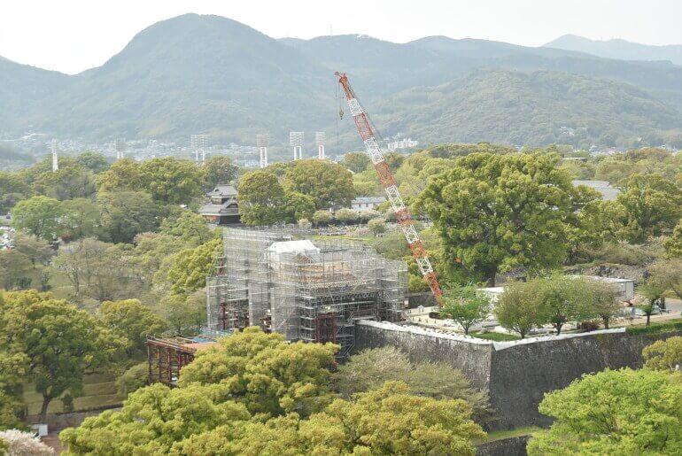 熊本城、飯田丸五階櫓