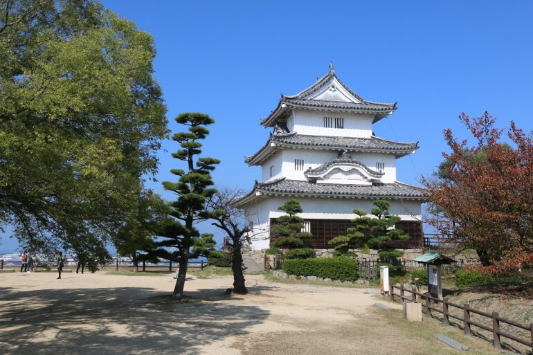 丸亀城、天守、ふるさと納税