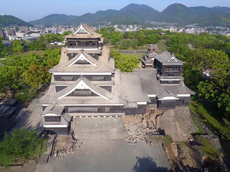 熊本城、被害、被災、寄附