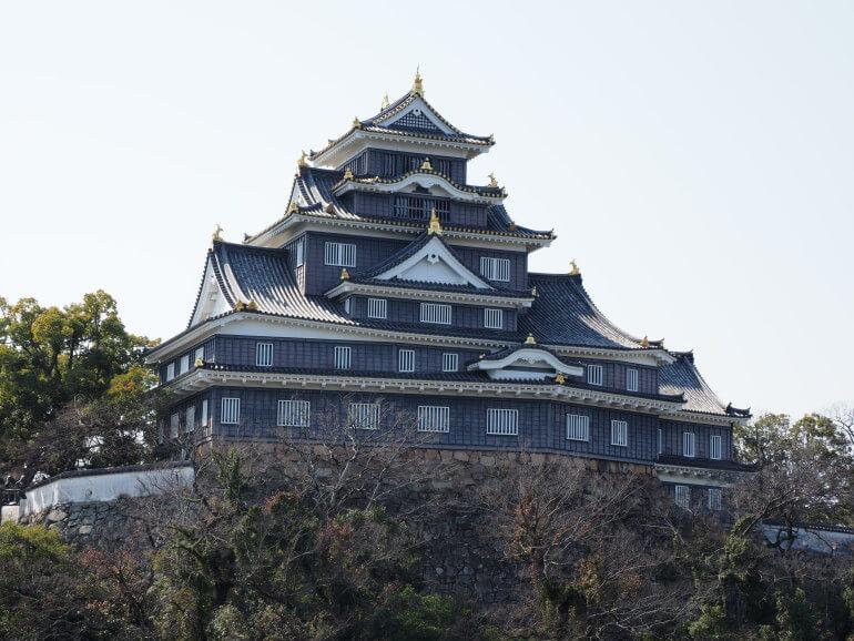 岡山城、天守、鉄筋コンクリート造り