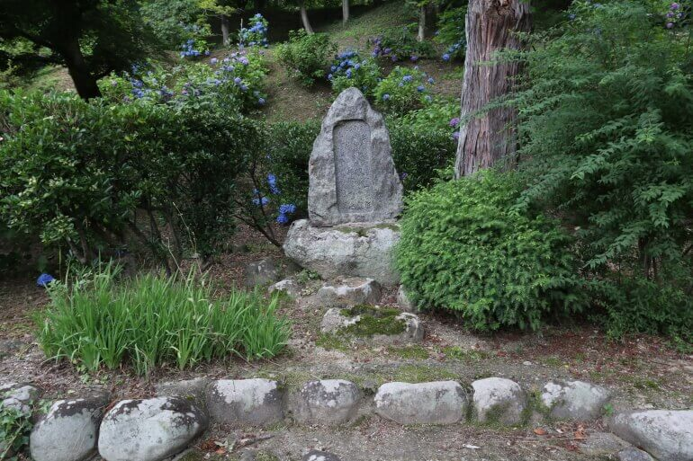 二本松城、碑