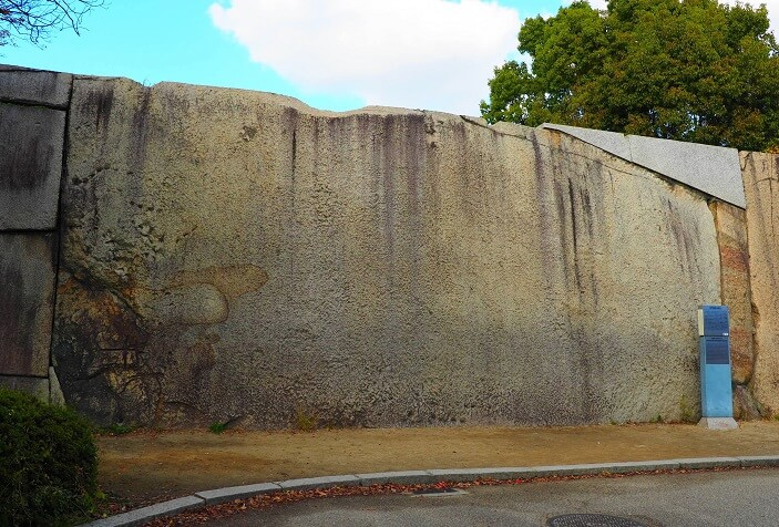 大坂城、蛸石、鏡石、巨石