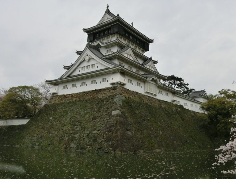 小倉城、天守、復元