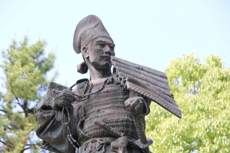 清須城、公園、織田信長像