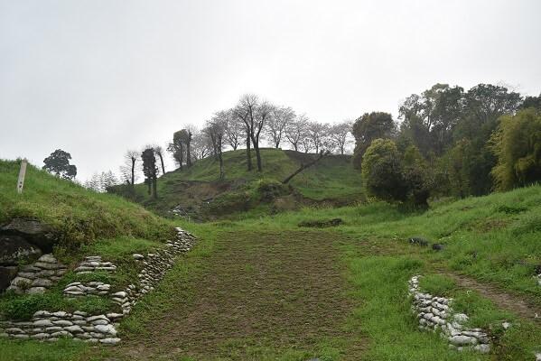 島原城、階段遺構